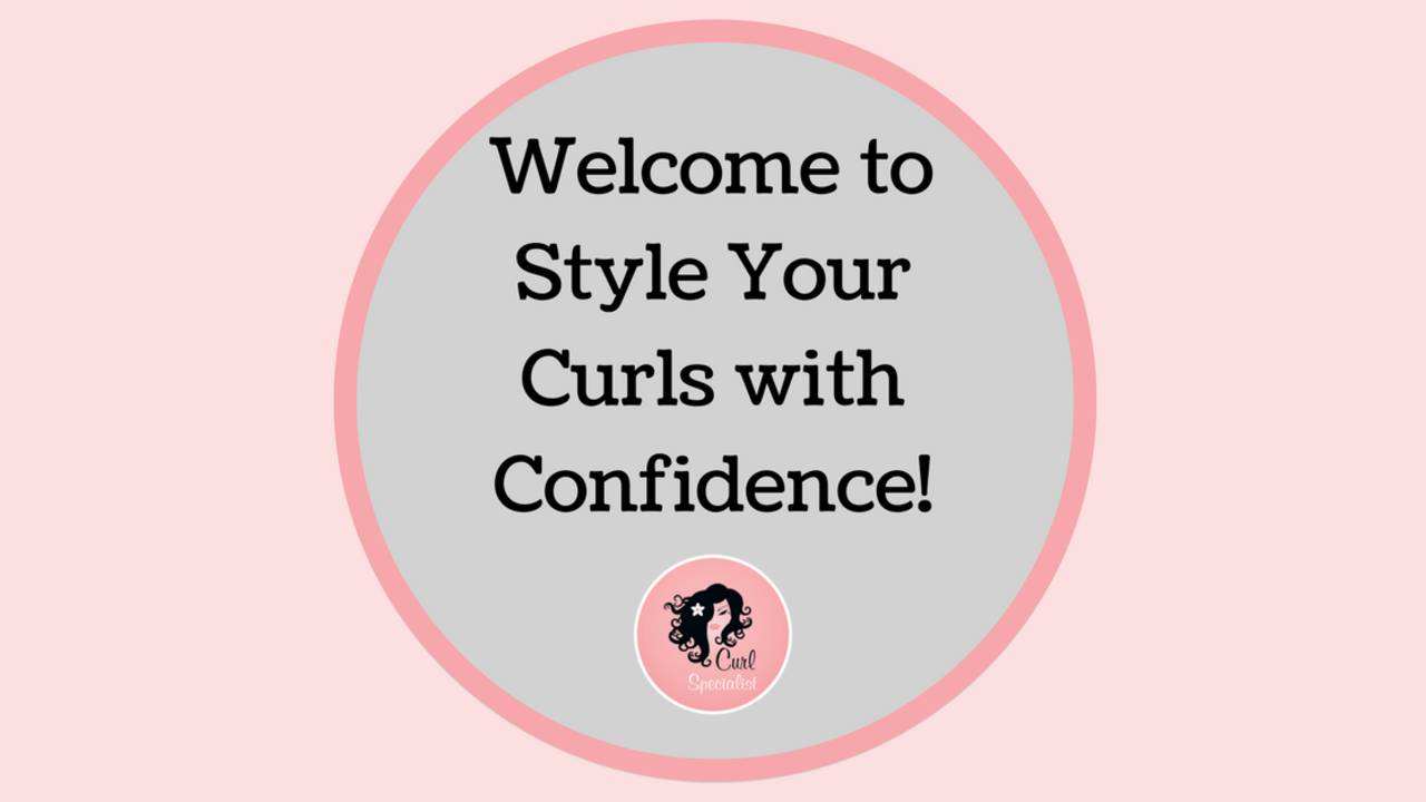 Online krullencursus: Style Your Curls With Confidence