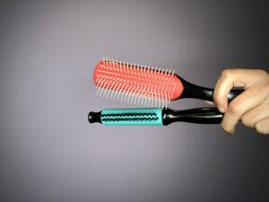 Denman Brush & Scrunch It Brush